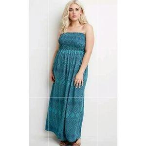 Forever 21 Strapless Summer Tube Dress